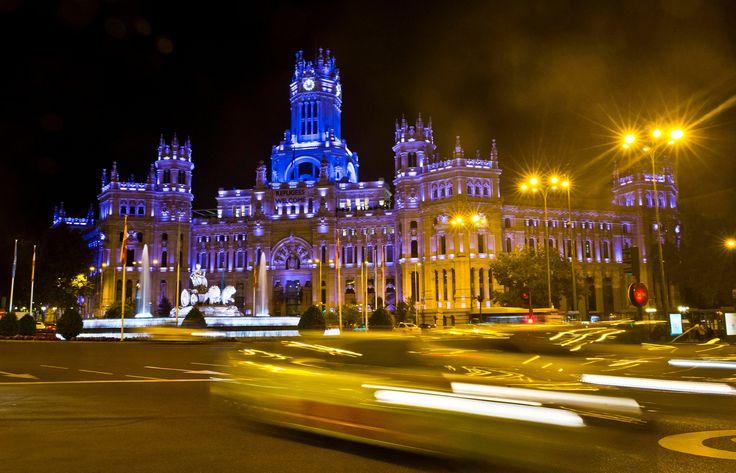 The Cibeles Palace in Madrid, Spain  Photograph: Emilio Naranjo/EPA