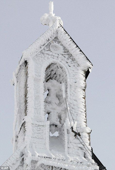Tower of the Wendelstein church, Germany's highest church