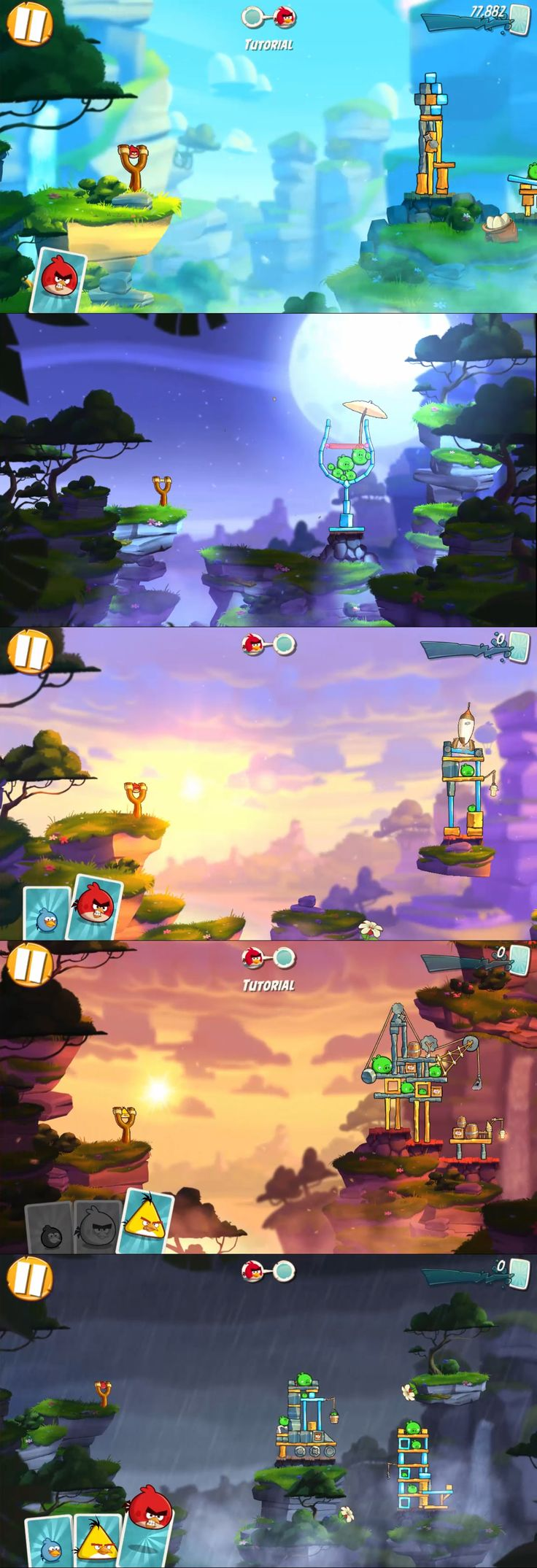 Angry Birds 2 Game Arenas from Level 1 to Level 5.  To check more about the new arena from latest game angry birds 2, high score strategies, game walk-through, visit our YouTube channel and subscribe our channel BeginnerstoAdvance and get update with new game strategies.  Like and Share the Video in the channel.