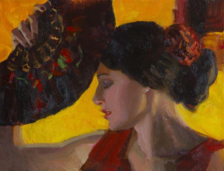 MATTEO ARTIST - Flamenca II by Matteo