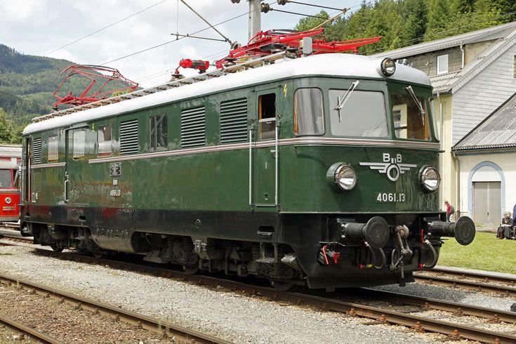 Als Gepäcktriebwagen gab es den 4061.13 beim Internationalen Triebwagentreffen in Mürzzuschlag am 12.06.2016 zu sehen.