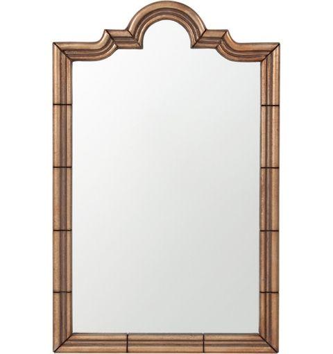 Mirror Pavillion Oriental Style Panel Borders