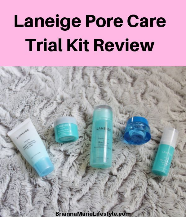 Laneige Pore Care Trial Kit Review
