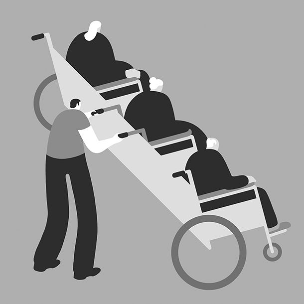Magoz Illustration - Aging population