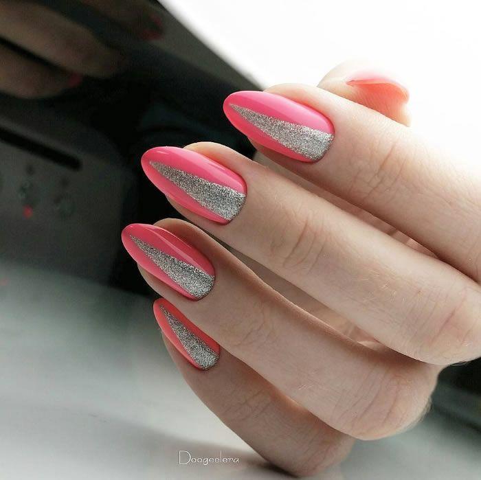 Pin by Andreea on Unghii cu gel mari | Pink nails, Glue on
