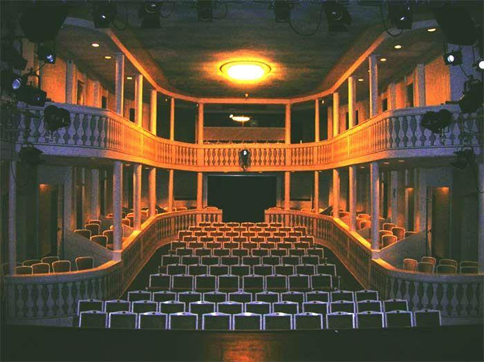 Playhouse Wilhelmsbad. Hanau-Wilhelmsbad, Germany.