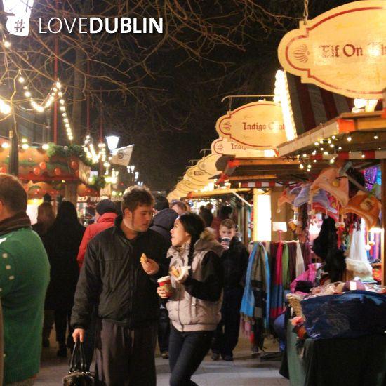The first ever #Christmas #market at #StephensGreen #LoveDublin #festive #fun #December #CityBreak