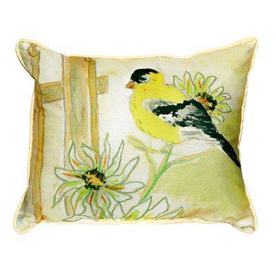 Betsy Drake Interiors Goldfinch Indoor/Outdoor Lumbar