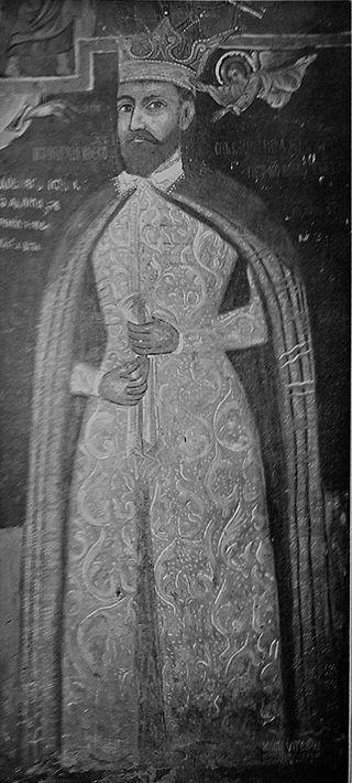 070 - Mihai Viteazul (Caluiu Monastery, naos)  http://lacasedecult.cimec.ro/RO/Documente/asp/detaliu.asp?k=22711-2