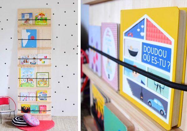 rangement des livres pour les enfants