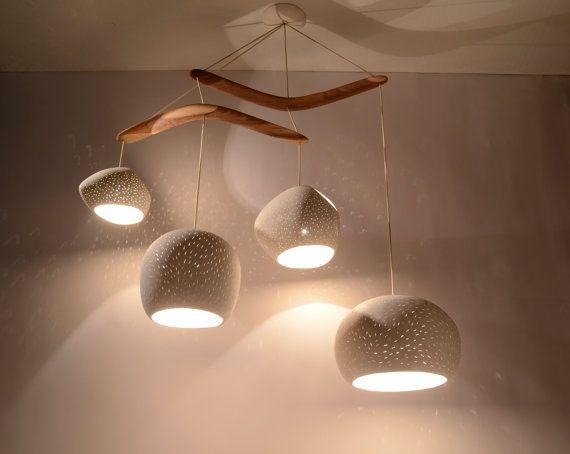 Ceiling lighting CLAYLIGHT BOOMERANG XL Four by lightexture