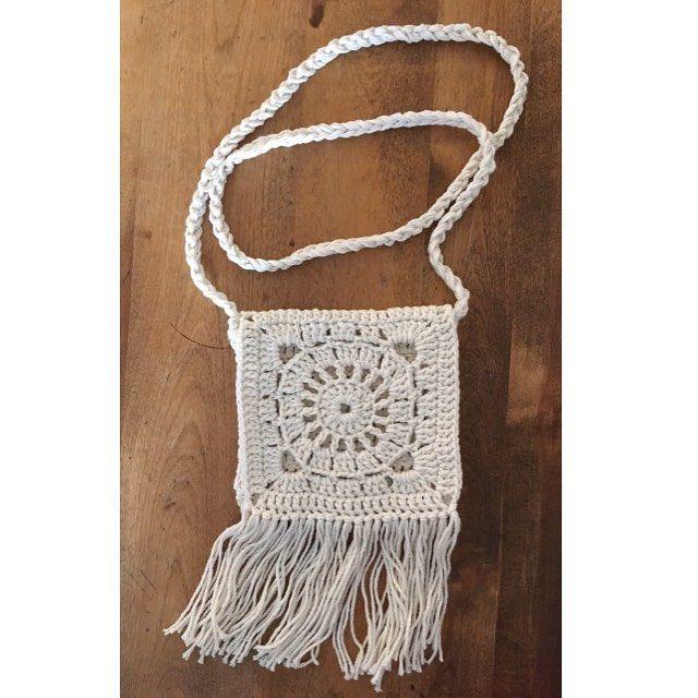 Boho purse, crochet bag