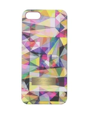 Ted Baker Kaleidoscope iPhone 5 Hard Case, Pink