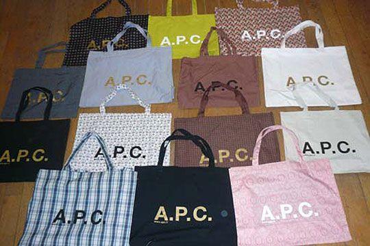 A.P.C totes