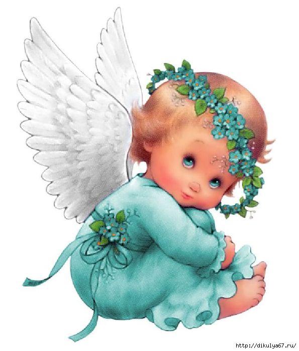Дорога счастья, маленький ангел на открытках