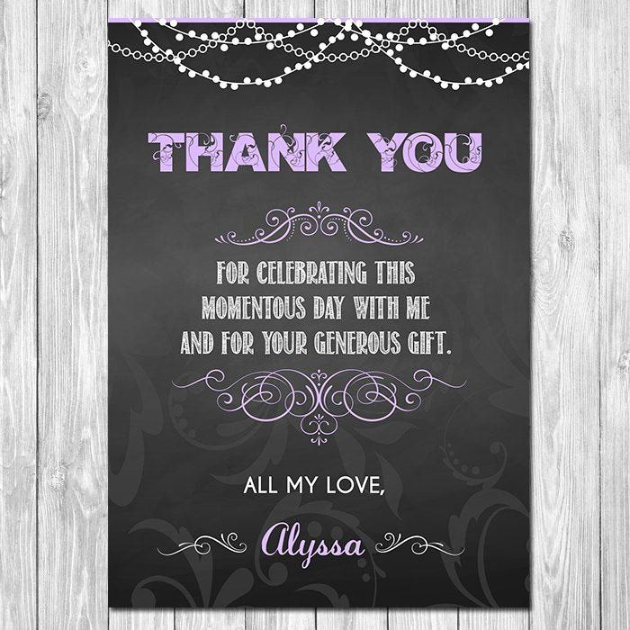 40 Thank You Card For Money In 2020 Printable Graduation Invitation Graduation Thank You Cards Printable Thank You Cards