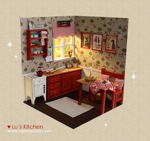 Miniature Children S Bedroom Room Box Diorama: 136 Best Images About Doll Dioramas On Pinterest