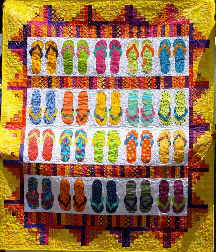 Summer's quilt ~Love this.  For Faith and fam's trips to the beach?   ~m