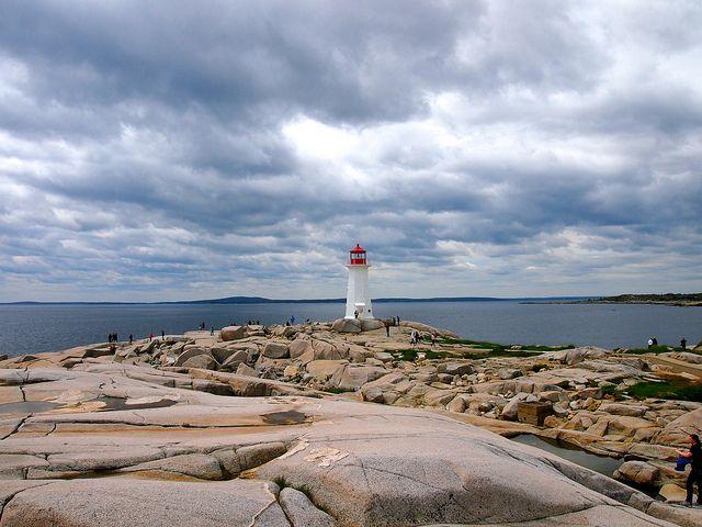 Peggys Point Lighthouse, Nova Scotia