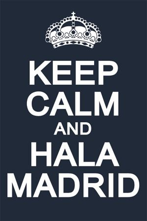 ♫mi equipo♫ hala madrid, hala madrid, hala madrid♫