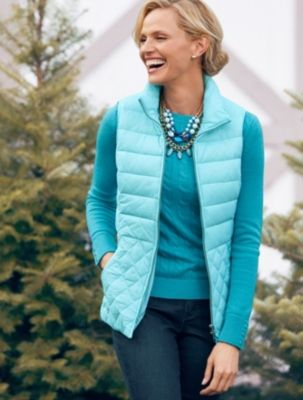 Talbots - Solid Quilted Puffer Vest | New Arrivals |