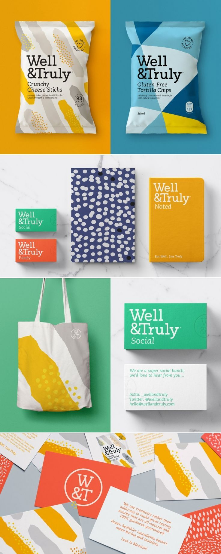 Well & Truly is Here To Change Up The Healthy Snack Market With Colorful Packaging