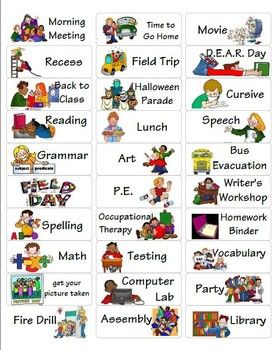 17 Best images about Preschool Visual Schedule/PECS/Music Board on ...