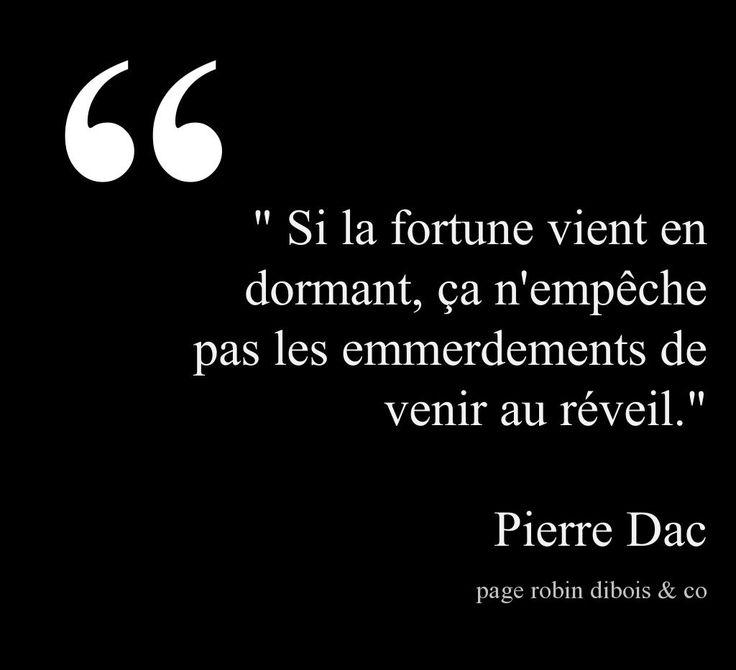 Pierre Dac - La fortune