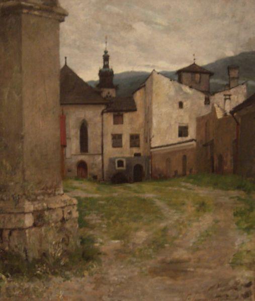 Bavarian Village, Georgios JAKOBIDES (1853-1932)