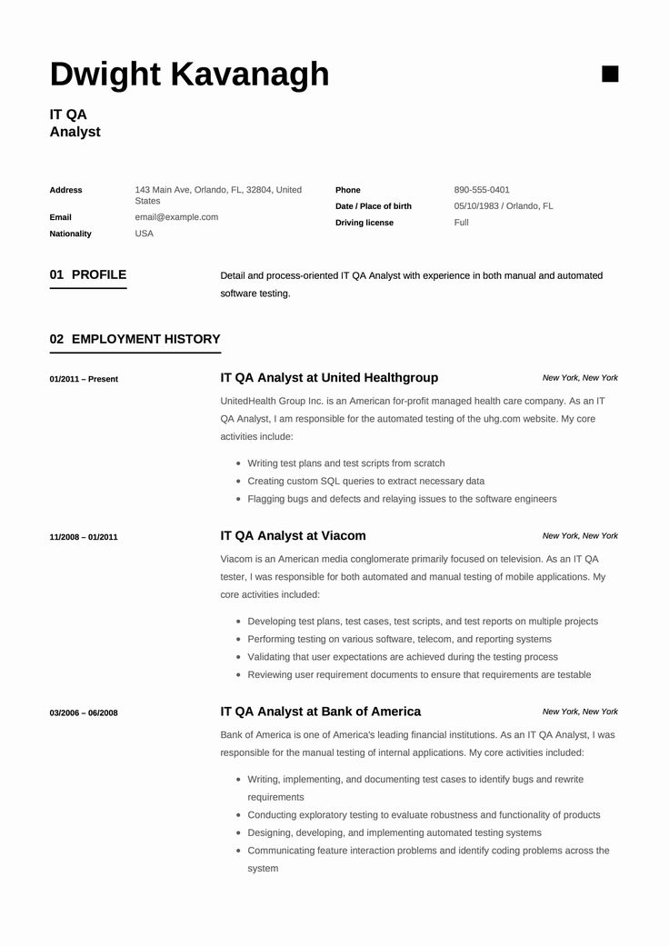 20 Manual Tester Resume 3 Years Experience in 2020