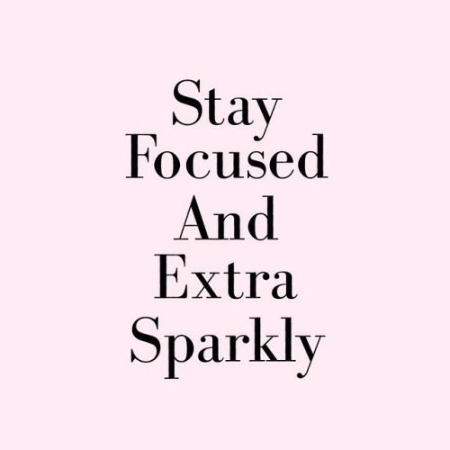 SPARKLE AT ANY COST                                                                                                                                                      More