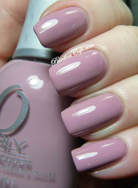 'petit four' mauve nail polish by Orly