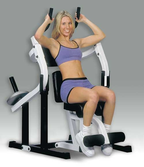 $329.99 Yukon Fitness - ACM-190 - Ab Crunch Machine Professional Home Exercise Machine - White .See More Ab Exercise Machines at http://www.zbuys.com/level.php?node=3794=ab-exercise-machines