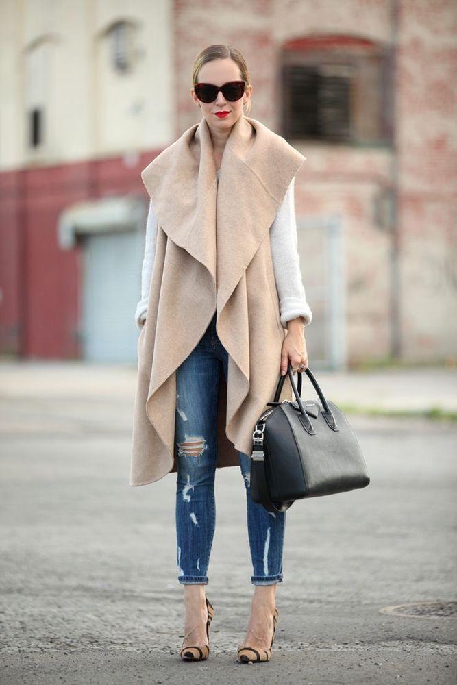 Zara Camel Wool Handmade Long Waistcoat One Size Zara Waistcoat More Fall Styles