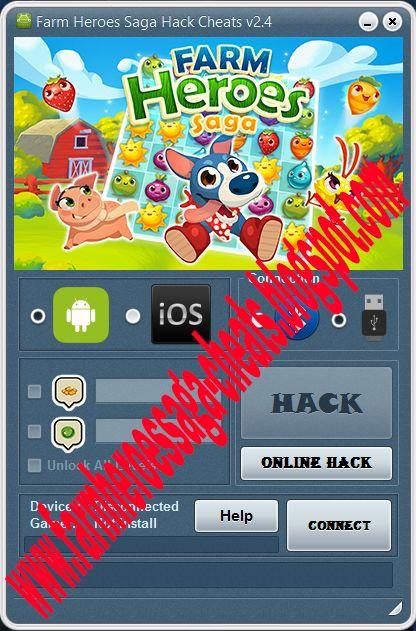 Farm Heroes Saga Hack Cheats