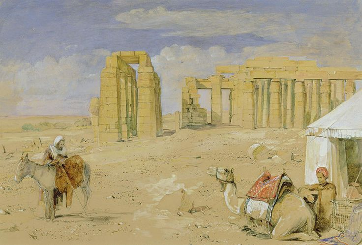 The Ramesseum At Thebes by John Frederick Lewis fineartamerica.com900 × 610Buscar por imagen The Ramesseum At Thebes Metal Print by John Frederick Lewis ............................. JOHN FREDERICK LEWIS (1805-1876) - Buscar con Google