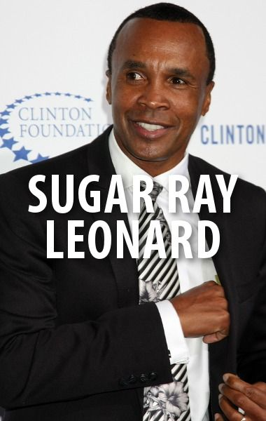 Champion boxer Sugar Ray Leonard visited The Talk along with two of his children, Daniel and Camille. He mentioned his diabetes foundation charity. http://www.recapo.com/the-talk/the-talk-interviews/talk-sugar-ray-leonard-gold-medal-sugar-ray-leonard-foundation/