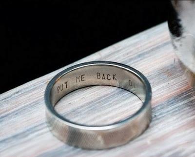 Wedding Ring Engravings Put Me Back On