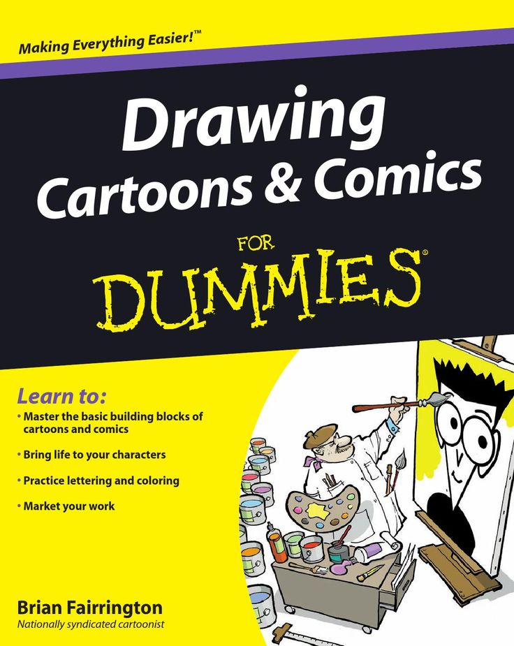 ɷDrawing cartoons and comics