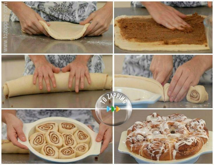 Cómo hacer rollitos de canela