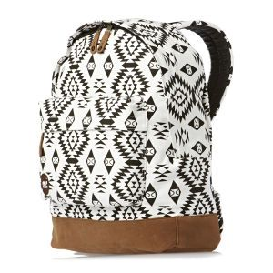 Mi-Pac Backpacks - Mi-Pac Native Backpack - Black/white