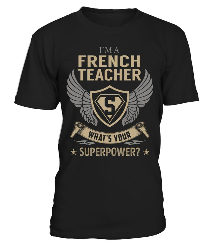 French Teacher - What's Your SuperPower #FrenchTeacher