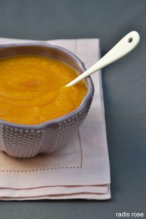 Une soupe de carotte miel gingembre pour faire le plein de vitamines, de couleurs et de peps pour affronter le froid.