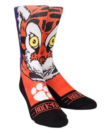 Loving this Clemson The Tiger Mascot Athletic Socks on #zulily! #zulilyfinds