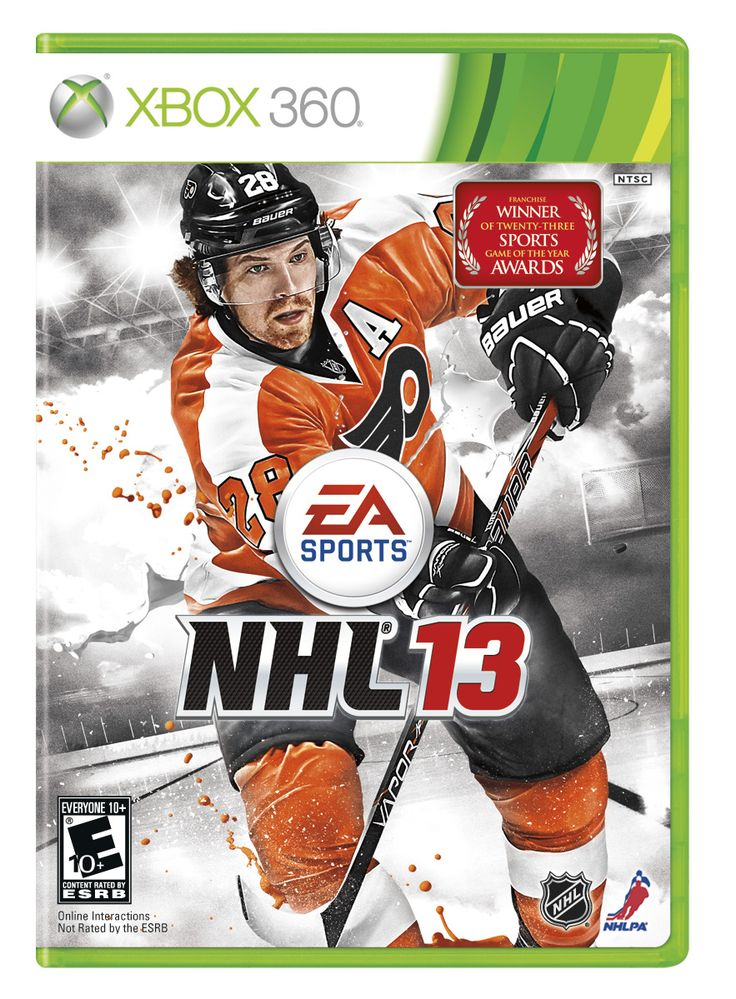 NHL13 -Cause Giroux: Xbox360 Games, Xbox360 Stores, Nhl13 Xbox360
