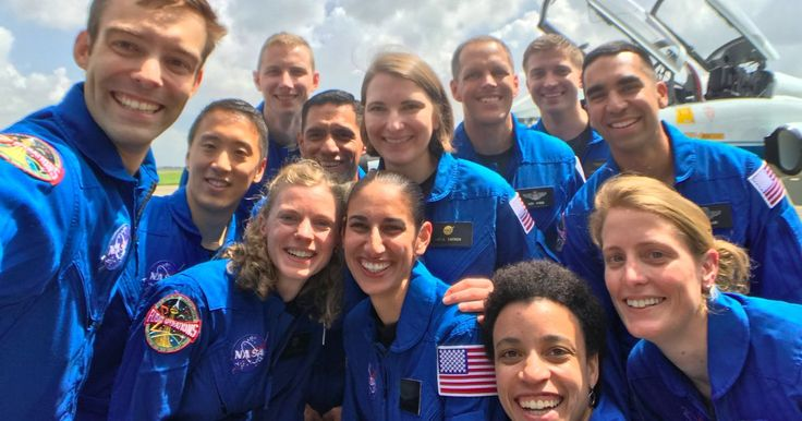 NASA just picked 12 new astronauts out of 18,300 applicants, and they're all awesome
