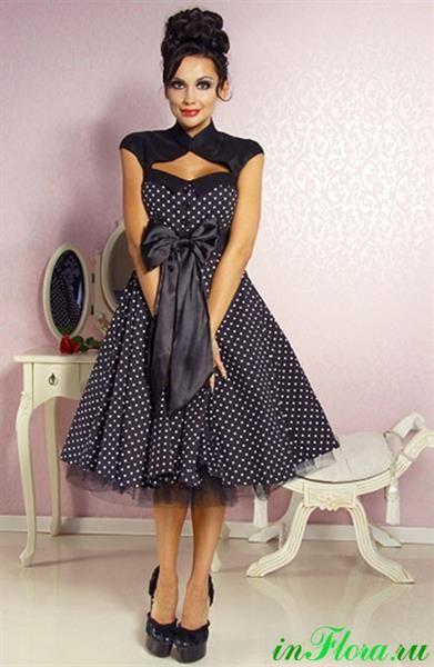 Рокабилли платье