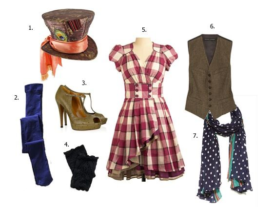 mad hatter costume for women halloween pinterest mad