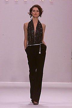 Céline Fall 2000 Ready-to-Wear Fashion Show - Shalom Harlow, Michael Kors
