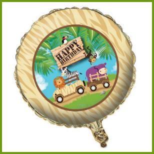 Mylar Balloon, $2.39 Cdn each http://www.allthatstuff.net/SafariAdventure/safari-adventure-party-supplies.html
